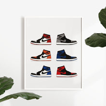 Laden Sie das Bild in den Galerie-Viewer, Air Jordan 1 - Artliv Shop | Sneaker & Streetwear Posters