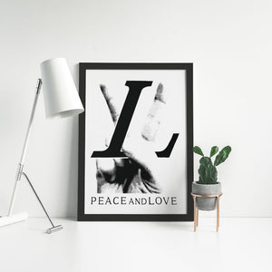 LV Peace and Love - Artliv Shop