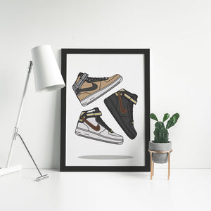 Nike Air Force 1 x Riccardo Tisci - Artliv Shop