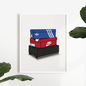 Air Jordan, Nike & Adidas Boxes - Artliv Shop