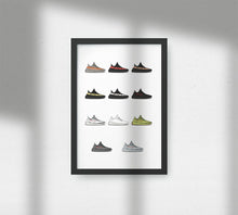 Load image into Gallery viewer, Yeezy Boost 350 V2 Collection - Artliv Shop | Sneaker & Streetwear Posters