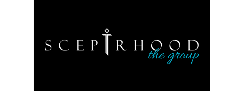 banner of sceptrhood group in black background