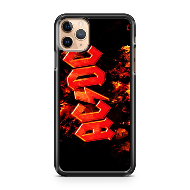 Ac Dc Flames iPhone 11 Pro Max Case Cover | CaseSupplyUSA