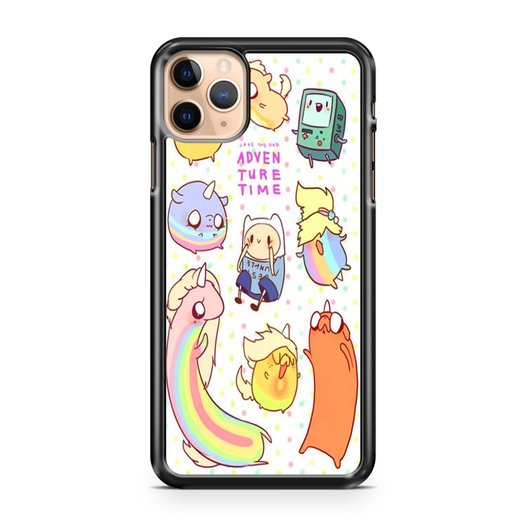 Adventure Time Chibi iPhone 11 Pro Max Case Cover | CaseSupplyUSA