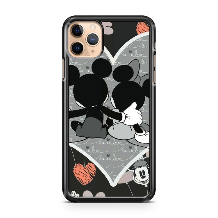 Mickey And Minnie Love iPhone 11 Pro Max Case Cover