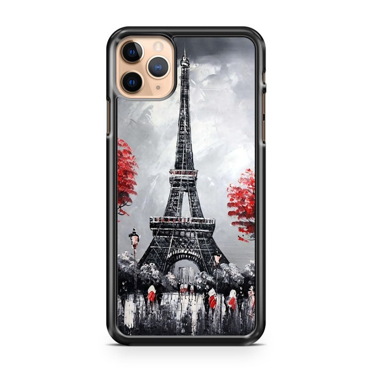 Modern ART Eiffel Tower IN Paris iPhone 11 Pro Max Case Cover