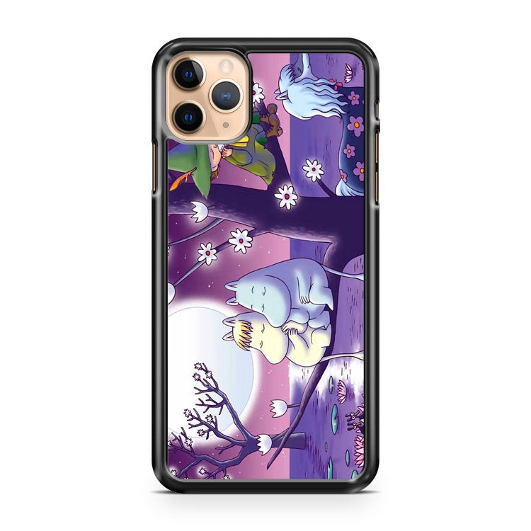 Moomins Couple On Branch iPhone 11 Pro Max Case Cover