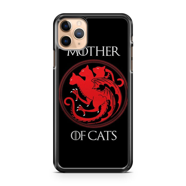 Mother Of Cats Logo iPhone 11 Pro Max Case Cover