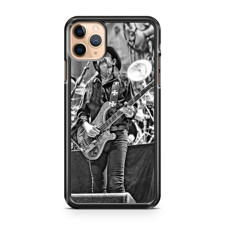 Motorhead Lemmy Performing iPhone 11 Pro Max Case Cover