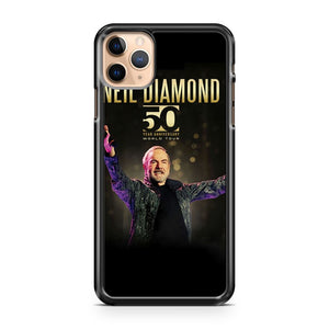 neil diamond 50th anniversary tour IP iPhone 11 Pro Max Case Cover