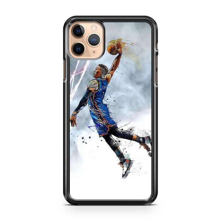 Russell Westbrook Oklahoma Thunder iPhone 11 Pro Max Case Cover
