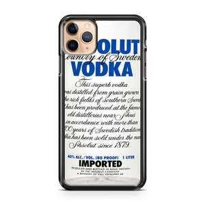 absolutevodka 2 iPhone 11 Pro Max Case Cover | CaseSupplyUSA