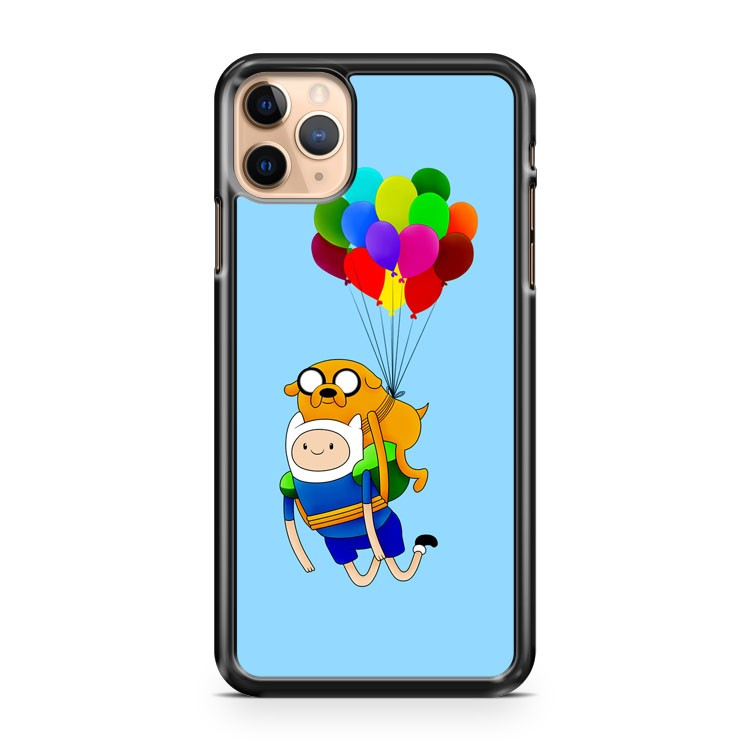 adventure time finn and jake balloon iPhone 11 Pro Max Case Cover | CaseSupplyUSA