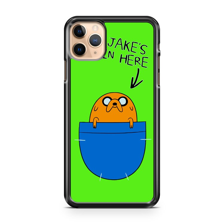 Adventure Time Jakes In Here 2 iPhone 11 Pro Max Case Cover | CaseSupplyUSA