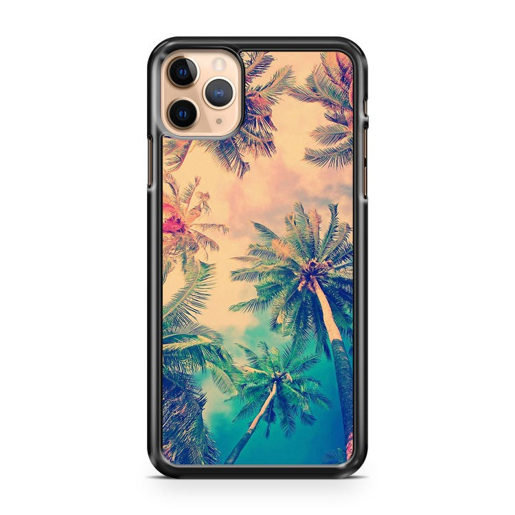 aloha palm trees iPhone 11 Pro Max Case Cover | CaseSupplyUSA