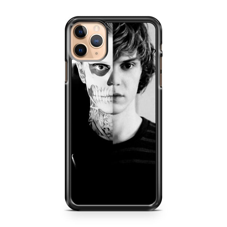 american horror story face tattoo iPhone 11 Pro Max Case Cover | CaseSupplyUSA