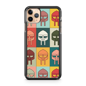 MF DOOM pattern iPhone 11 Pro Max Case Cover