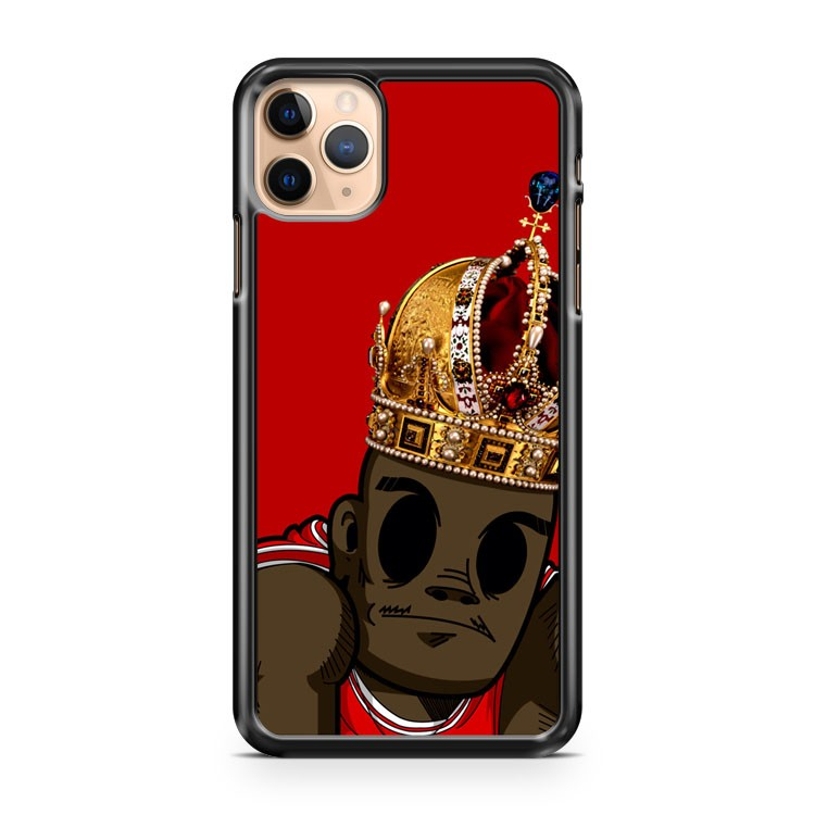 michael jordan the real king iPhone 11 Pro Max Case Cover