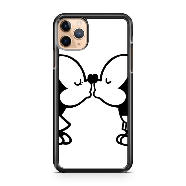 Mickey and Minnie Kissing 2 iPhone 11 Pro Max Case Cover