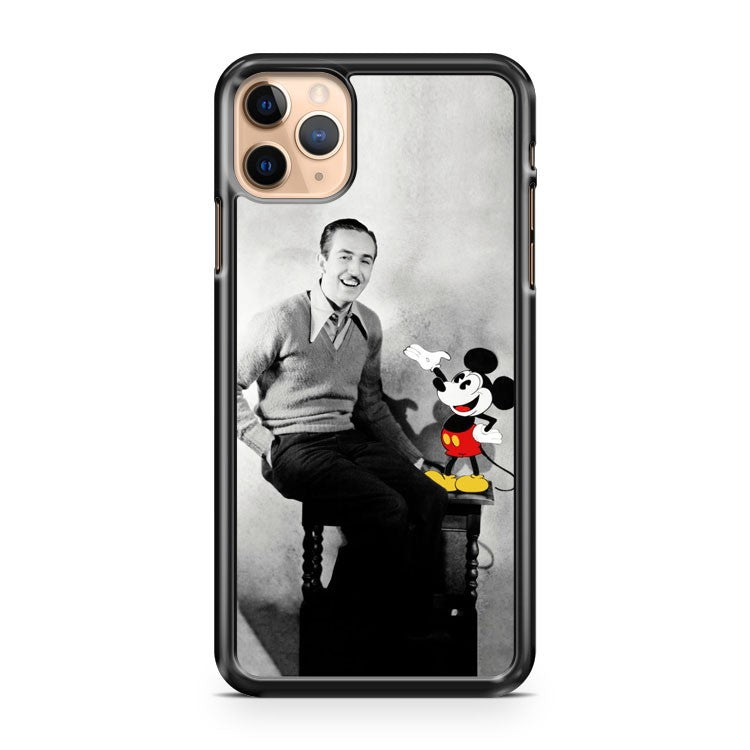 Mickey and Walt Disney Vintage iPhone 11 Pro Max Case Cover