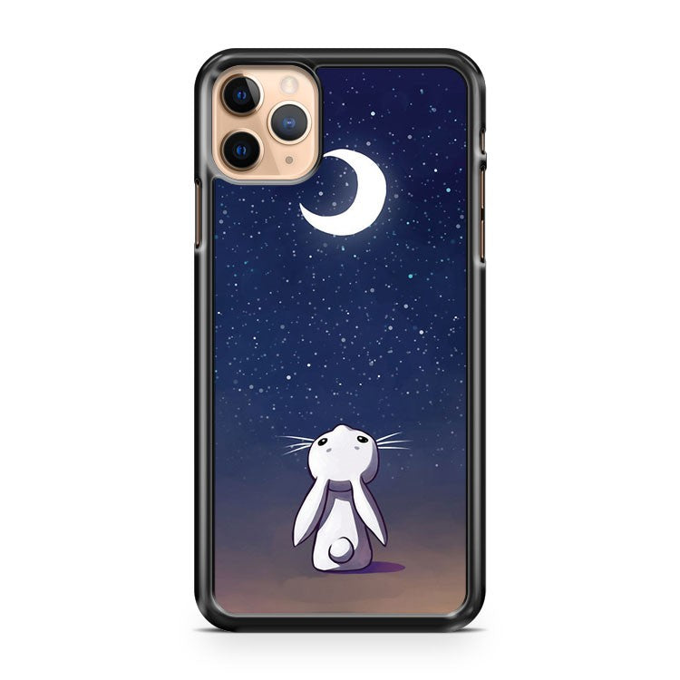 Moon Bunny 2 iPhone 11 Pro Max Case Cover