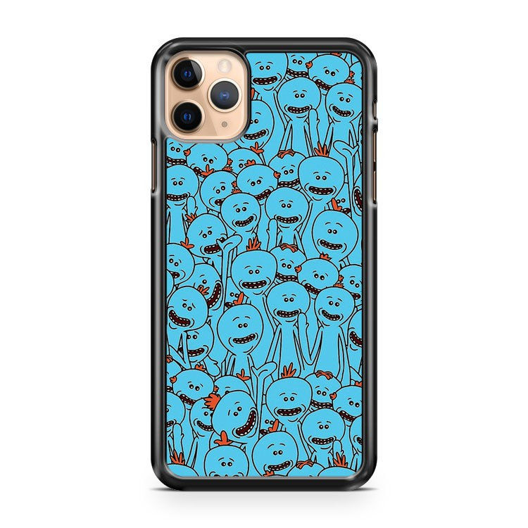 Mr Meeseeks Rick and Morty 2 iPhone 11 Pro Max Case Cover