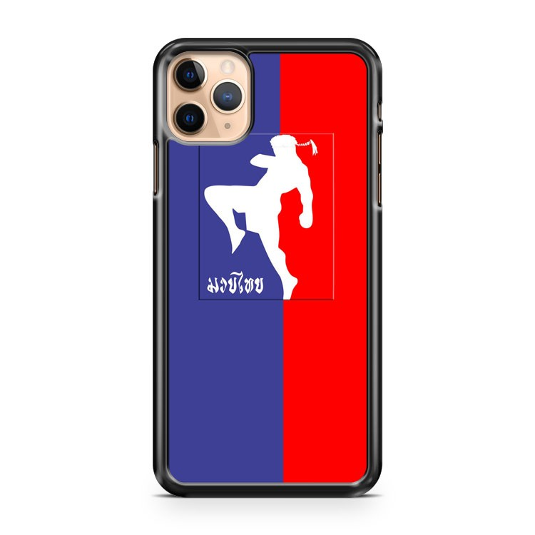 Muay Thai Boxing Logo Kickboxing MMA iPhone 11 Pro Max Case Cover