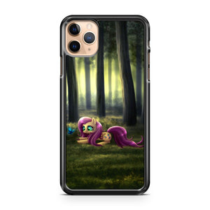 my little ponny fluttershy forest iPhone 11 Pro Max Case Cover