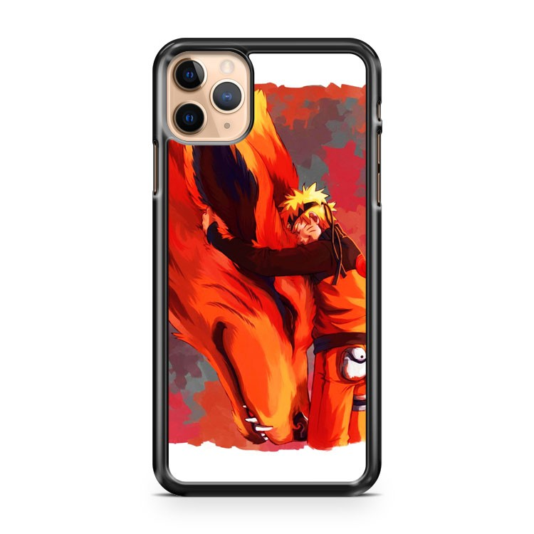 naruto and kyuubi kurama iPhone 11 Pro Max Case Cover