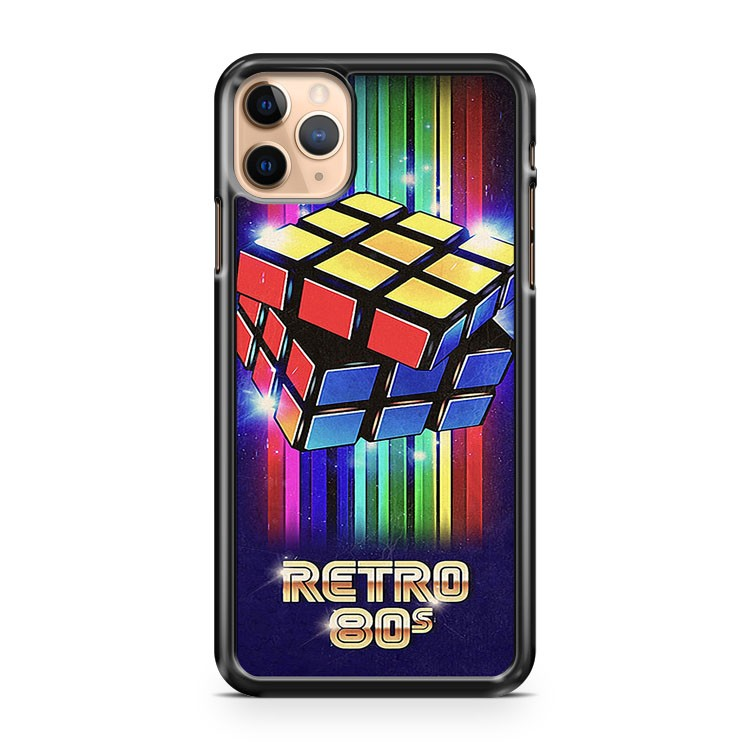 rubiks cube retro iPhone 11 Pro Max Case Cover