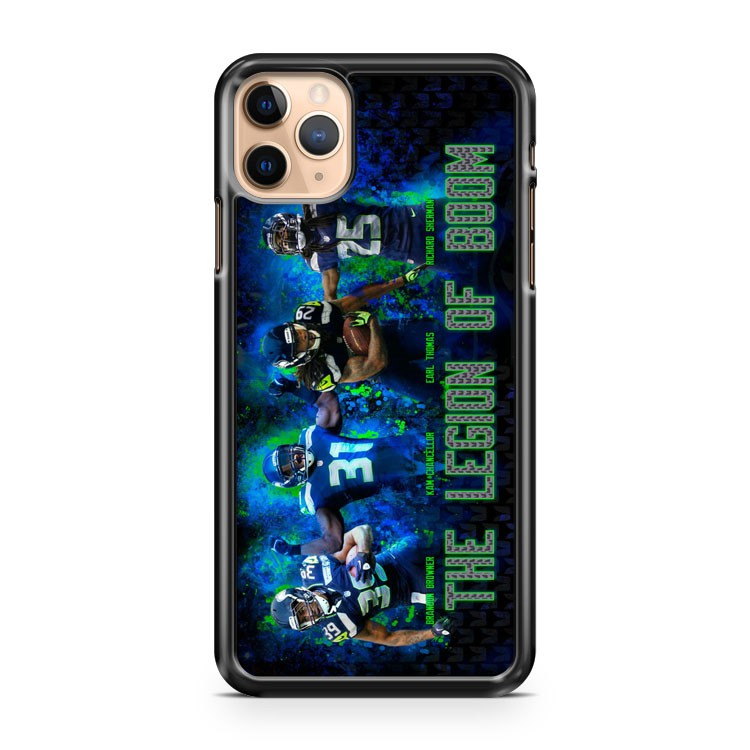 seattle seahawk the legion of boom iPhone 11 Pro Max Case Cover