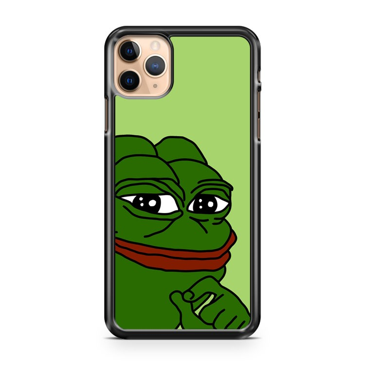 Smug Pepe Pepe The Frog 3 iPhone 11 Pro Max Case Cover