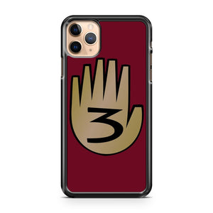 3 Hand Book From Gravity Falls iPhone 11 Pro Max Case Cover | CaseSupplyUSA