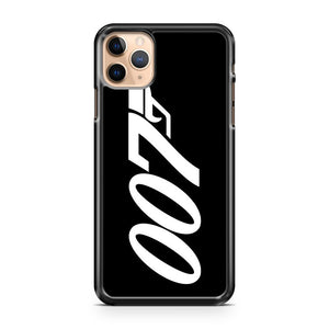 007 James Bond White And Black iPhone 11 Pro Max Case Cover | CaseSupplyUSA