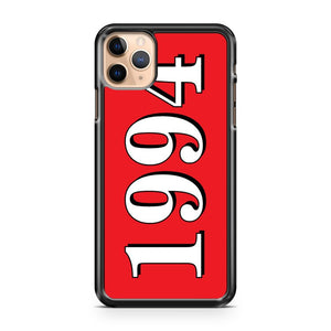 1994 justin bieber s date of birth iPhone 11 Pro Max Case Cover | CaseSupplyUSA