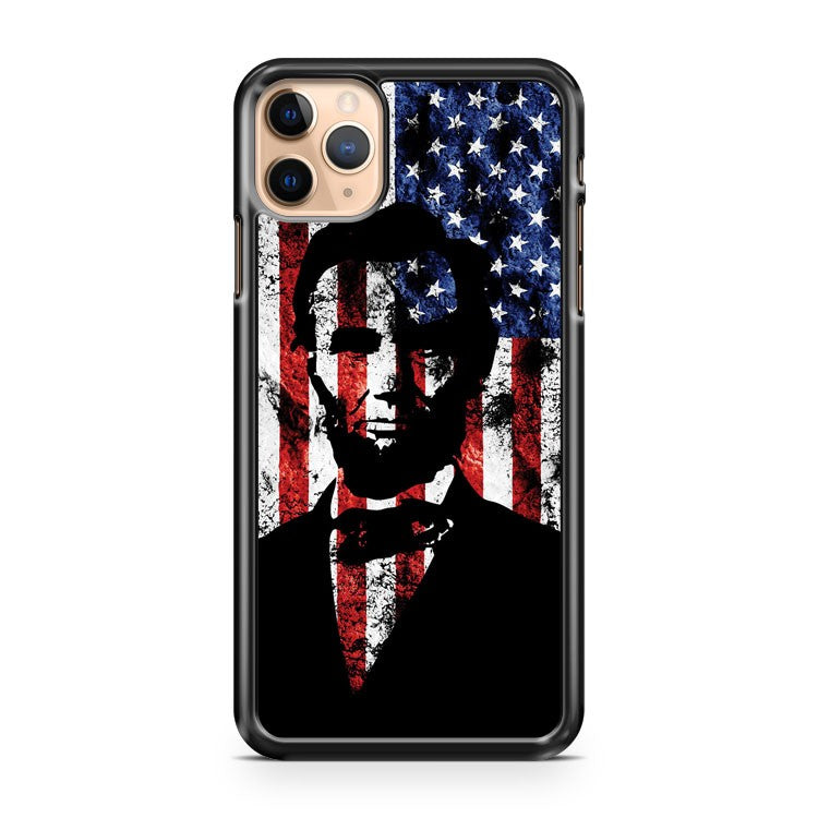 Abraham Lincoln iPhone 11 Pro Max Case Cover | CaseSupplyUSA