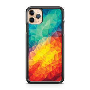 Abstarck Multi Color Cubizm Painting iPhone 11 Pro Max Case Cover | CaseSupplyUSA