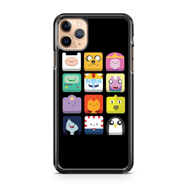 Adventure time characters icon iPhone 11 Pro Max Case Cover | CaseSupplyUSA