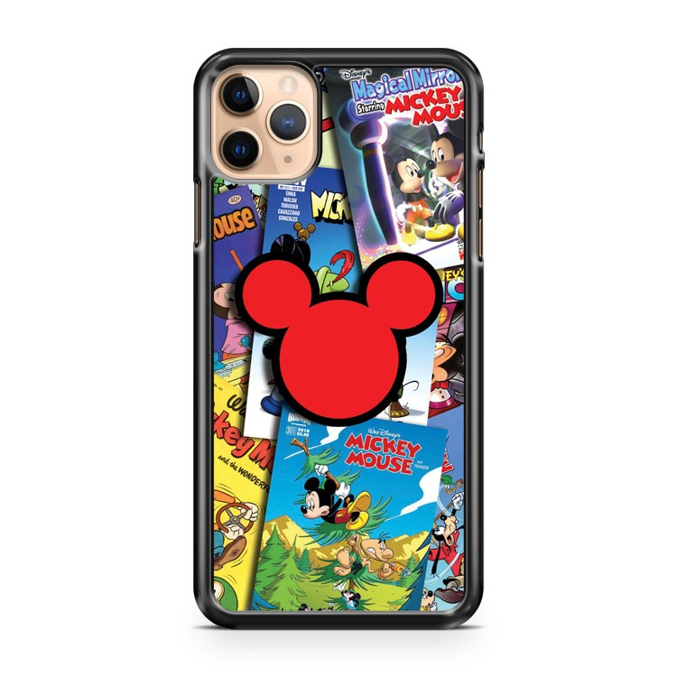 Anymode Mickey Mouse Comic iPhone 11 Pro Max Case Cover | CaseSupplyUSA