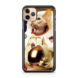 Cat Astronout iPhone 11 Pro Max Case Cover | CaseSupplyUSA