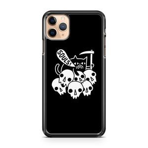 CAT GOT YOUR SOUL iPhone 11 Pro Max Case Cover | CaseSupplyUSA