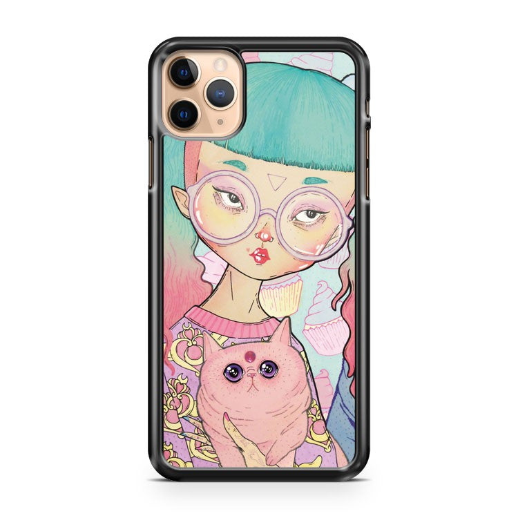 CAT LADY iPhone 11 Pro Max Case Cover | CaseSupplyUSA