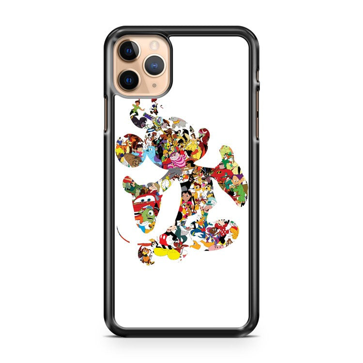 Mickey Mouse Silhouette 2 iPhone 11 Pro Max Case Cover