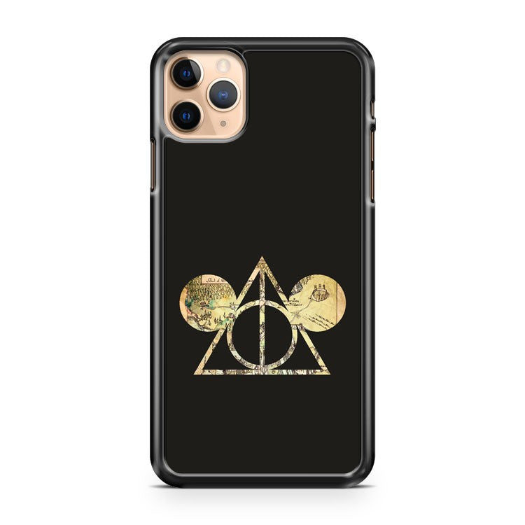 MICKEY S DEATHLY HALLOWS iPhone 11 Pro Max Case Cover