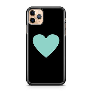 Mint Heart iPhone 11 Pro Max Case Cover