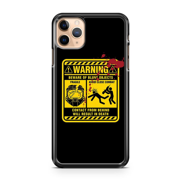 MJOLNIR WARNING LABEL iPhone 11 Pro Max Case Cover
