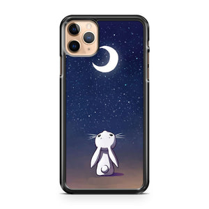 Moon Bunny iPhone 11 Pro Max Case Cover