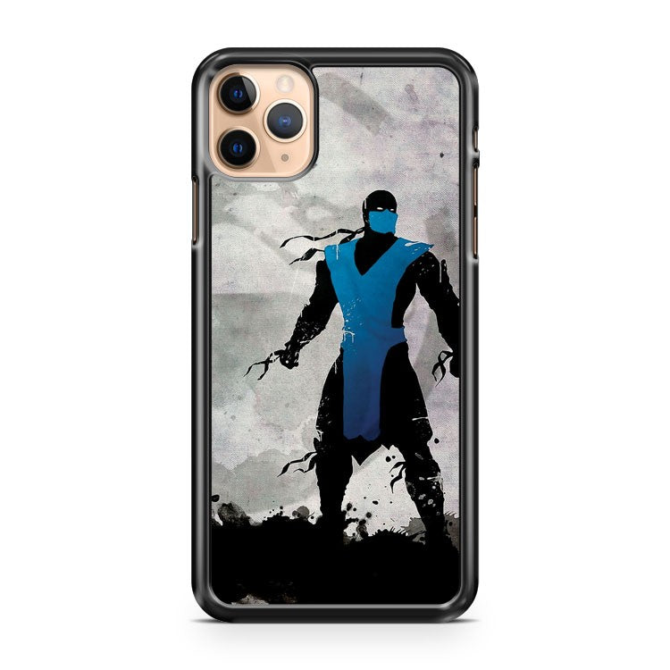 MORTAL KOMBAT INSPIRED SUB ZERO POSTER iPhone 11 Pro Max Case Cover