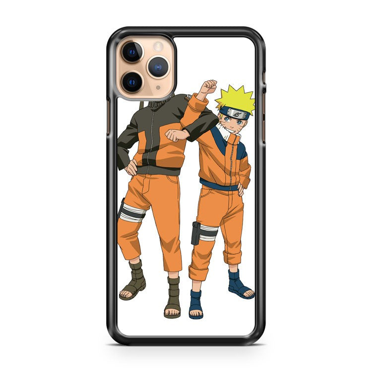 Naruto both parts iPhone 11 Pro Max Case Cover