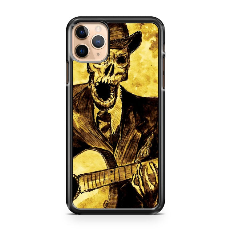 Skeleton Guitar iPhone 11 Pro Max Case Cover